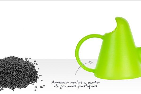 CPA Recyclage réduit l'empreinte carbone !